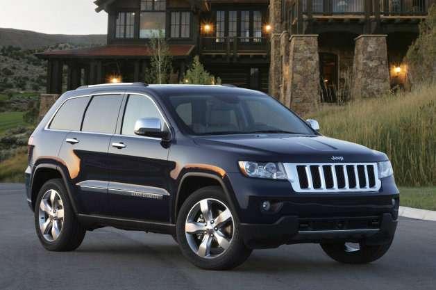 Chrysler отзывает 870000 вседорожников Jeep Grand Cherokee из-за неполадок стормозами