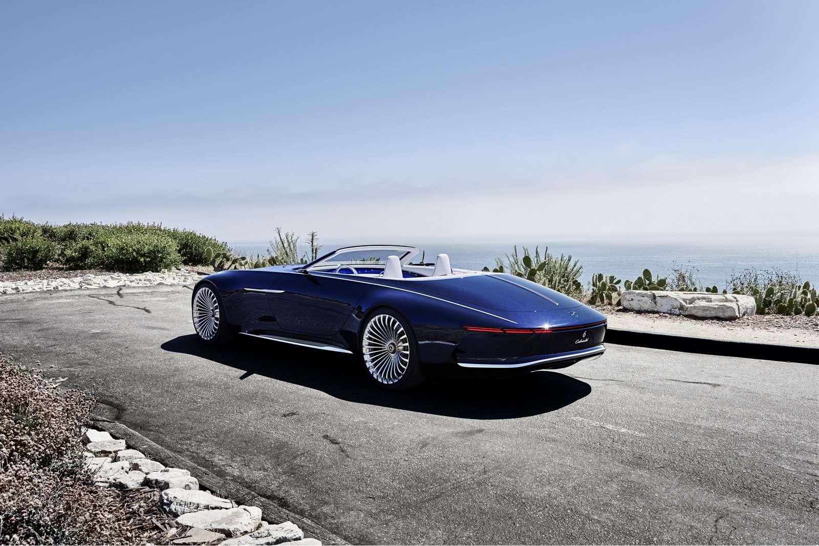 Пикник подкапотом: представлен кабриолет Mercedes-Maybach Vision 6— фото 786176