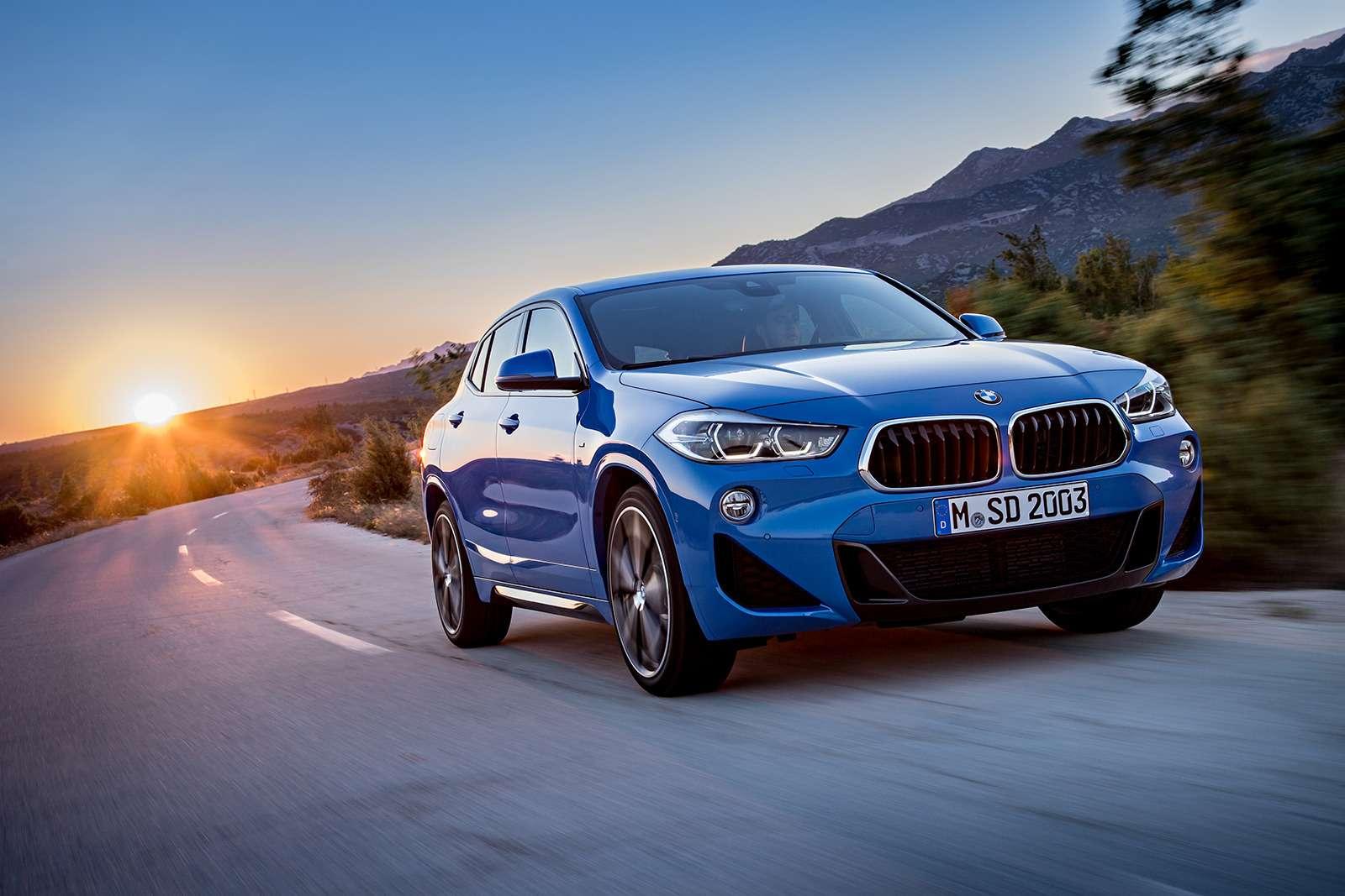 Мал, даудал: BMW рассекретила кроссовер X2— фото 809813