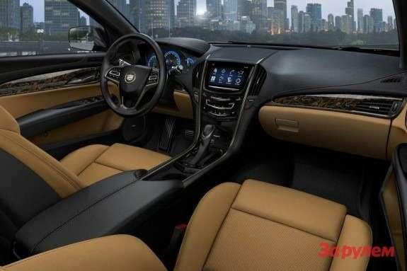 Cadillac ATS inside 2