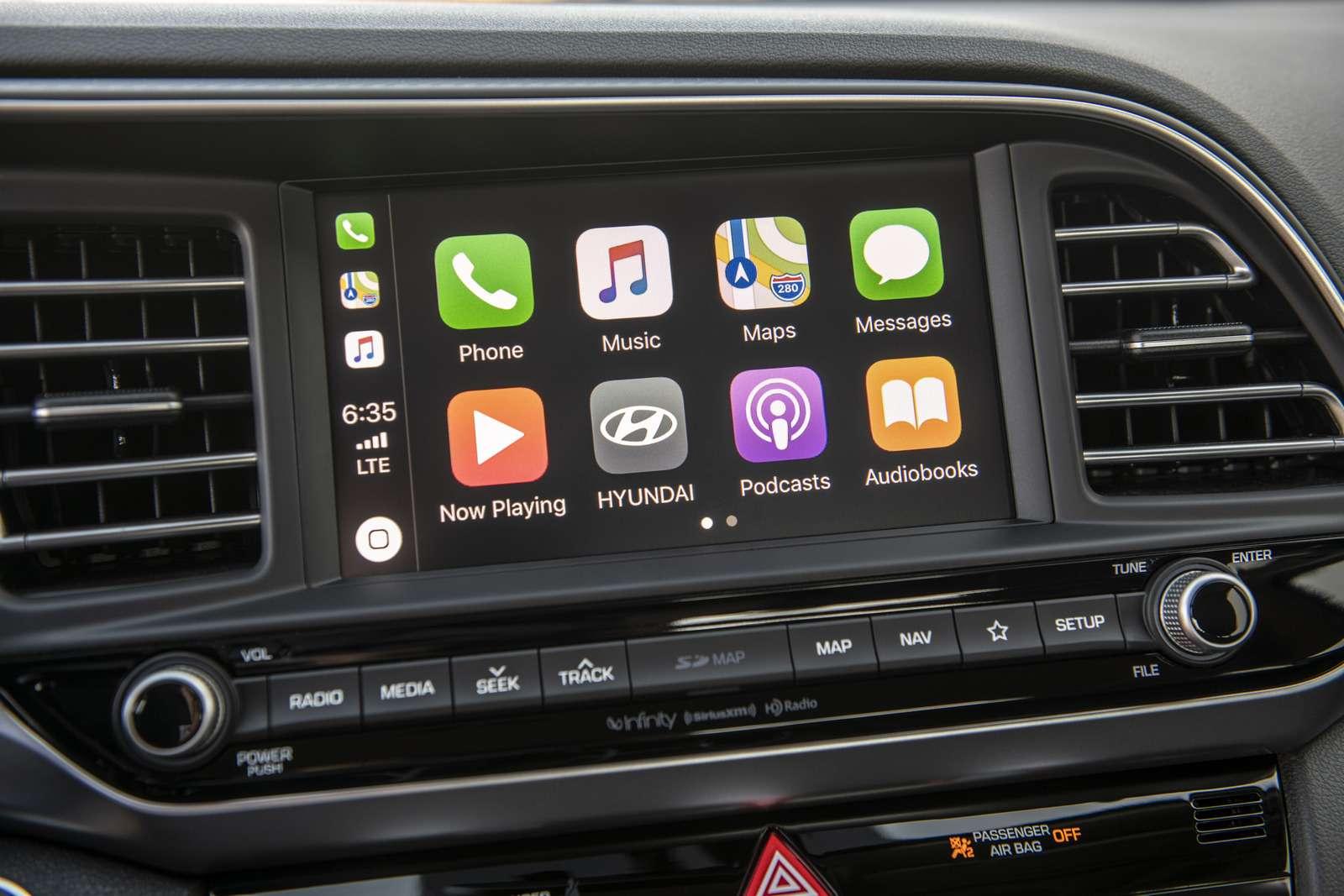 Обновленная Hyundai Elantra: треугольные фары иулучшенная безопасность— фото 898228