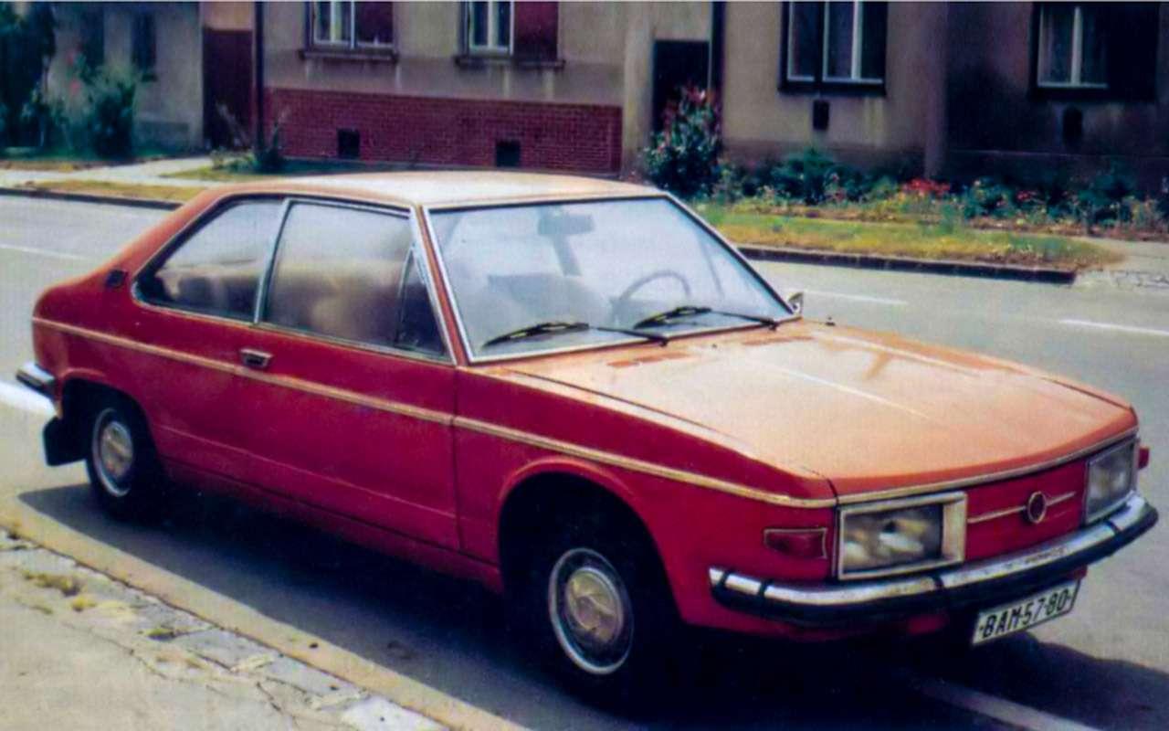 Чешский ставленник КГБ: ретротест редкой Татры— фото 1195841