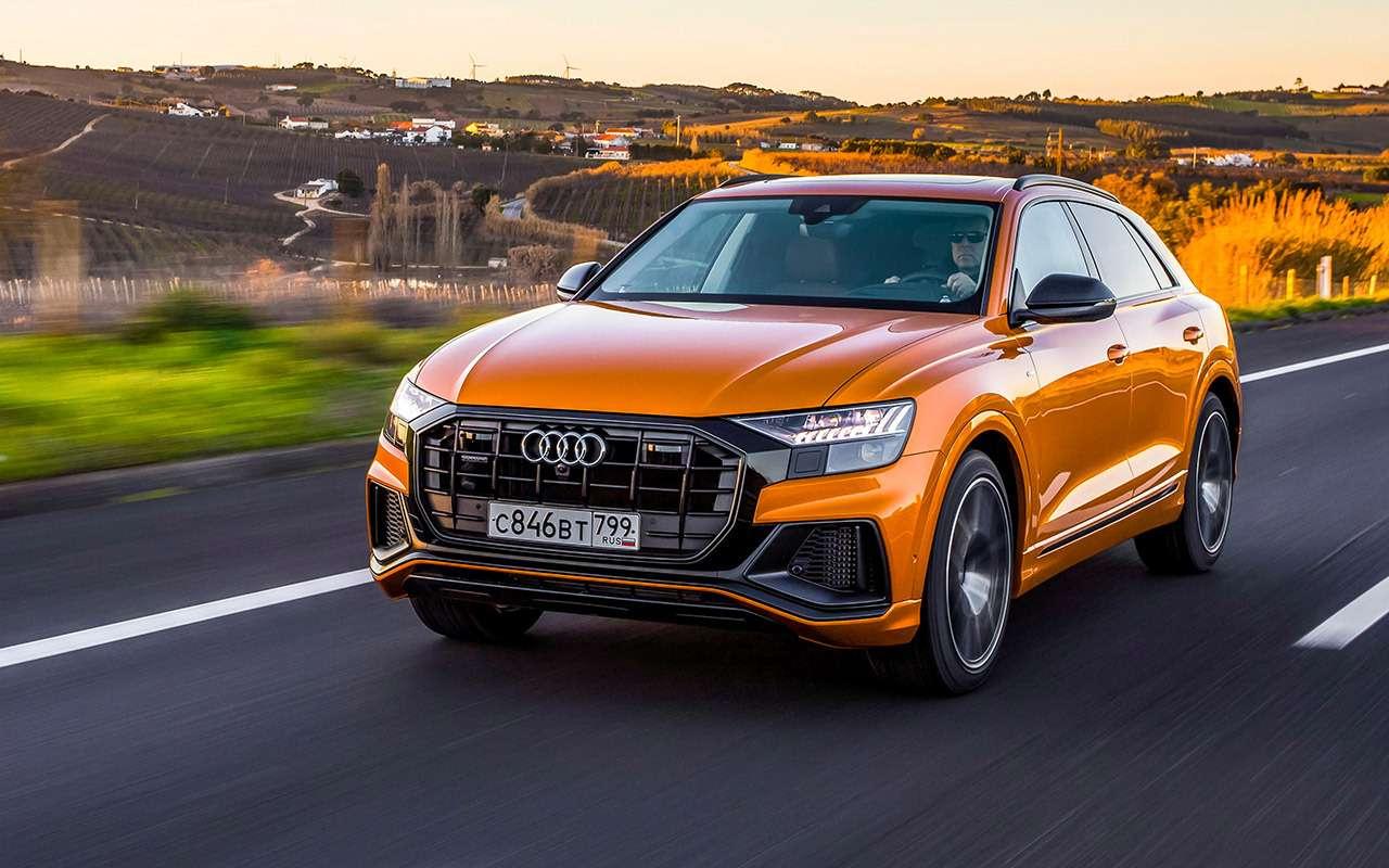 Новый кроссовер Audi: как дороже, чем Кайен?!— фото 950780
