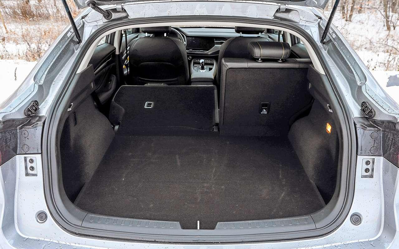 Кросс-купе изКитая, Франции иЯпонии: большой тест «Зарулем»— фото 1079517