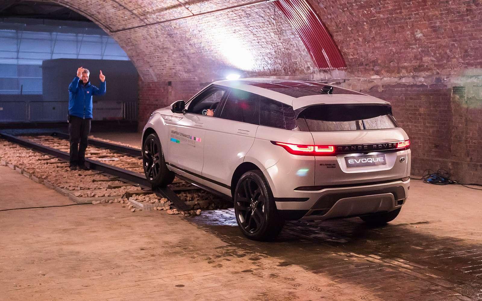 Новый Range Rover Evoque: отпредшественника только дверные петли— фото 926330