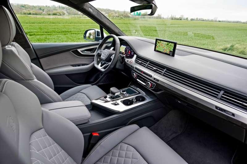Тест  Audi SQ7: вседорожник испортсмен