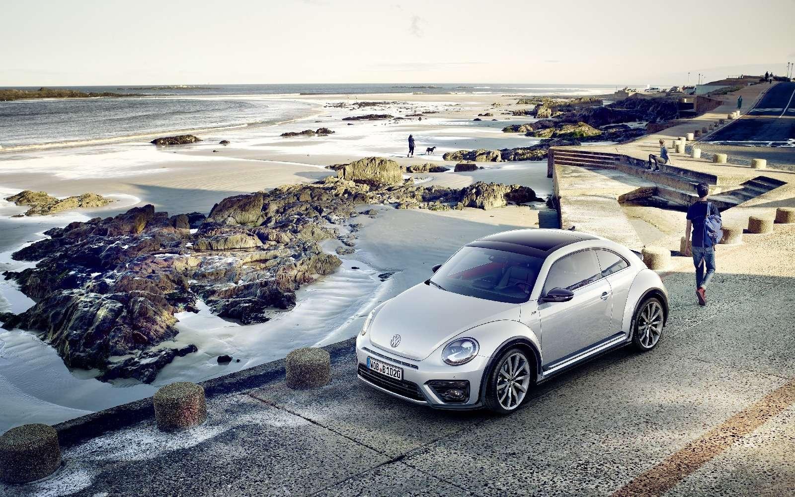 Volkswagen Beetle принарядили впоследнюю гастроль— фото 593058