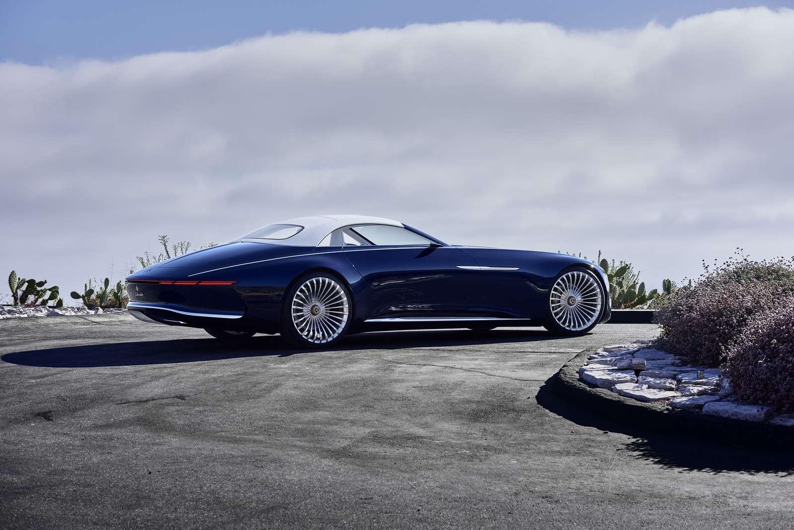 Пикник подкапотом: представлен кабриолет Mercedes-Maybach Vision 6— фото 786178