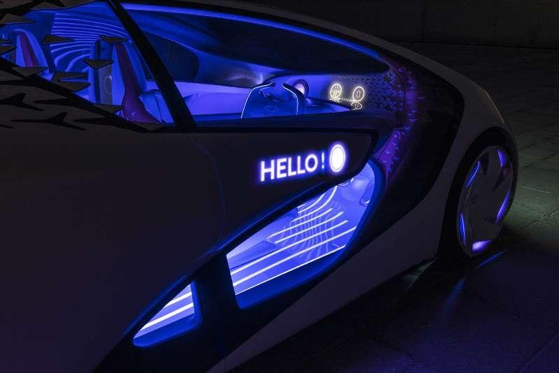 Тойота показала 1-ый «интеллектуальный» автомобиль Concept-i