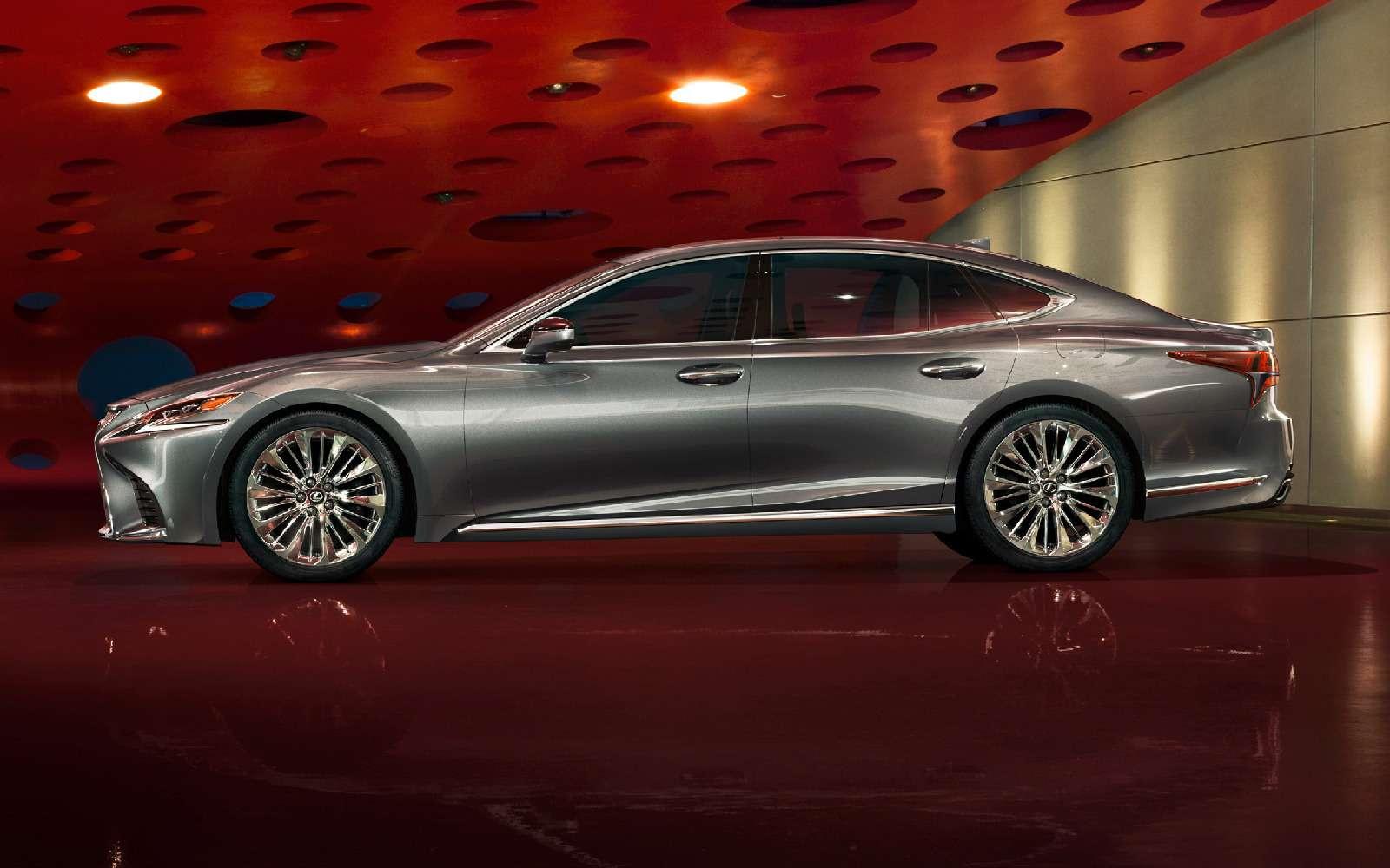Новый Lexus LSполучил российский ценник— фото 822397