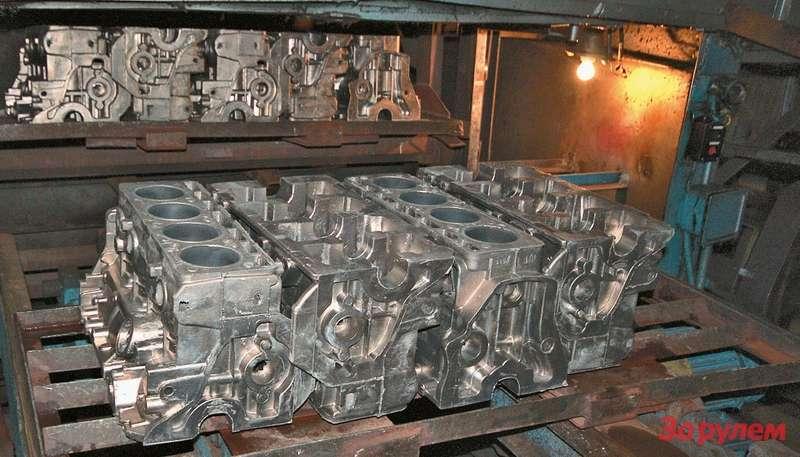 Собственное литейное производство позволяет УМЗ оперативно вносить изменения вконструкцию двигателей