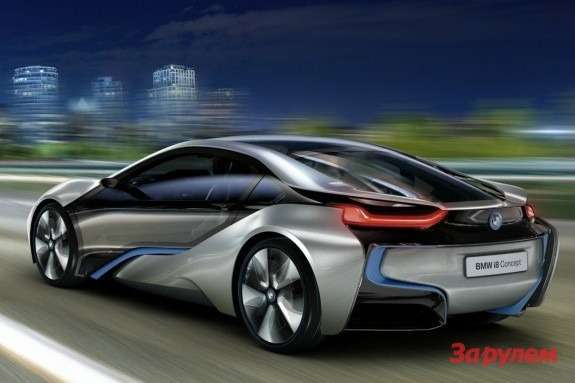BMWi8Concept side-rear view