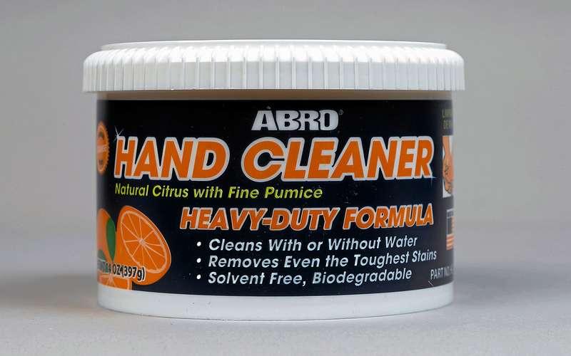 Чем отмыть руки после ремонта – выбираем лучшее средство