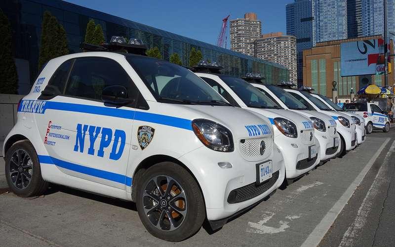 Самые несуразные патрульные машины: ужлучше вконную полицию!