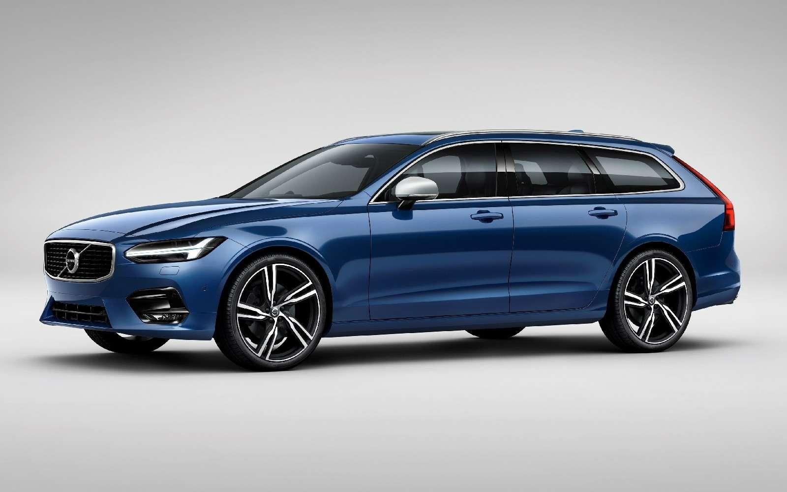 Volvo подготовила дляфлагманской модели спортпакет R-Design— фото 600926