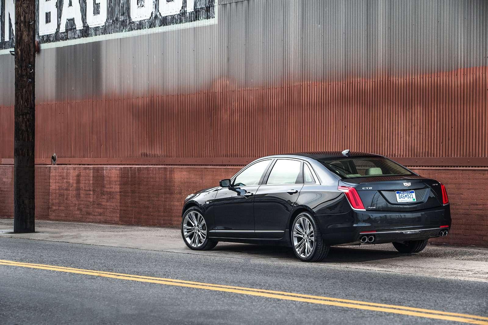 Флагманский седан Cadillac: цены икомплектации вРоссии— фото 823418