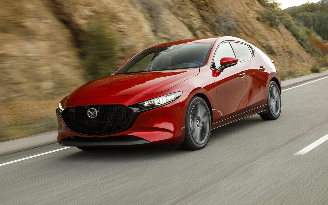 Новая Mazda 3: цены икомплектации— фото 980474
