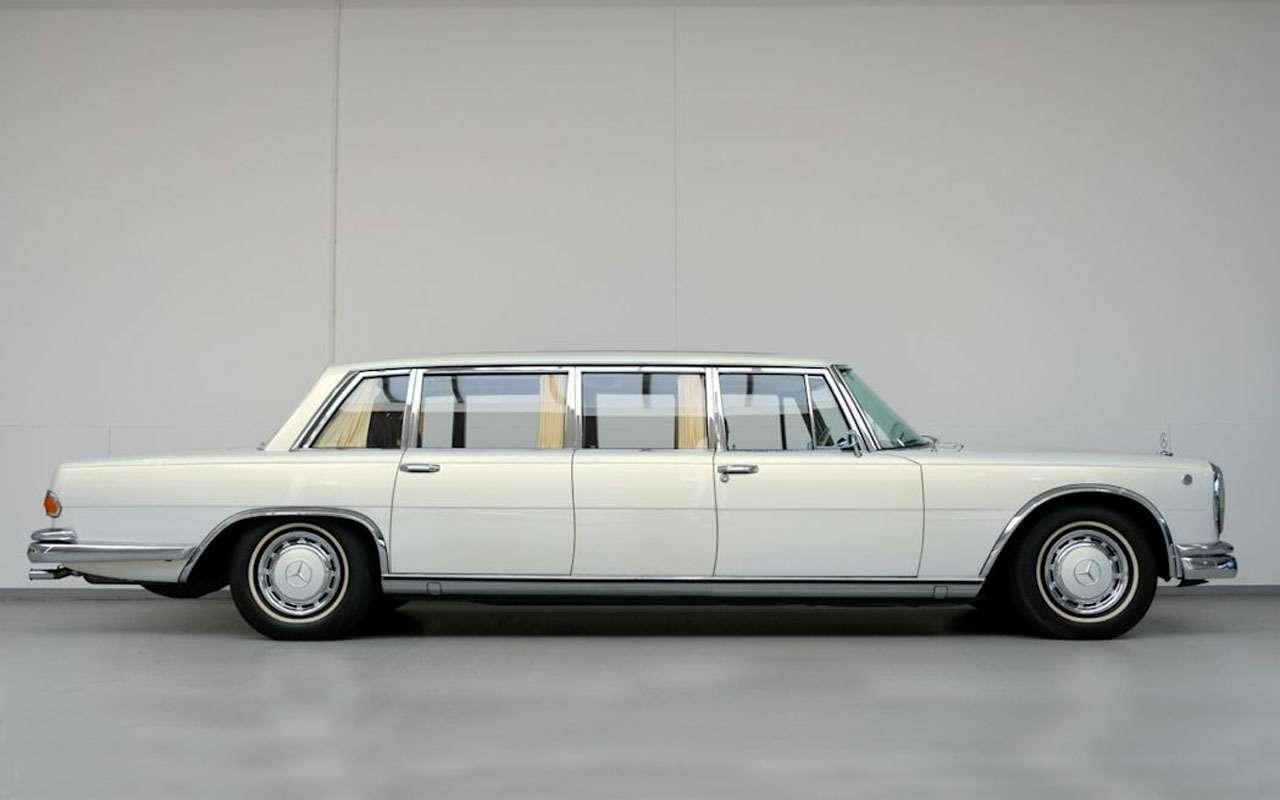 Потратили 3млн евро, продают за2: Mercedes 1975 года идет соскидкой— фото 1116232