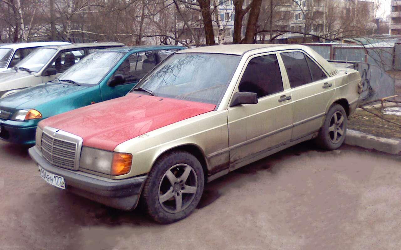 Мойпервый автомобиль: Mercedes-Benz W201— фото 848868