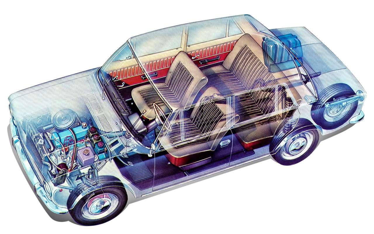«Копейка»— копия Fiat 124? Ищем десять отличий— фото 900946