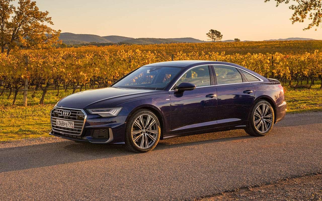 Audi везет вРоссию новые модификации A6— фото 1037767