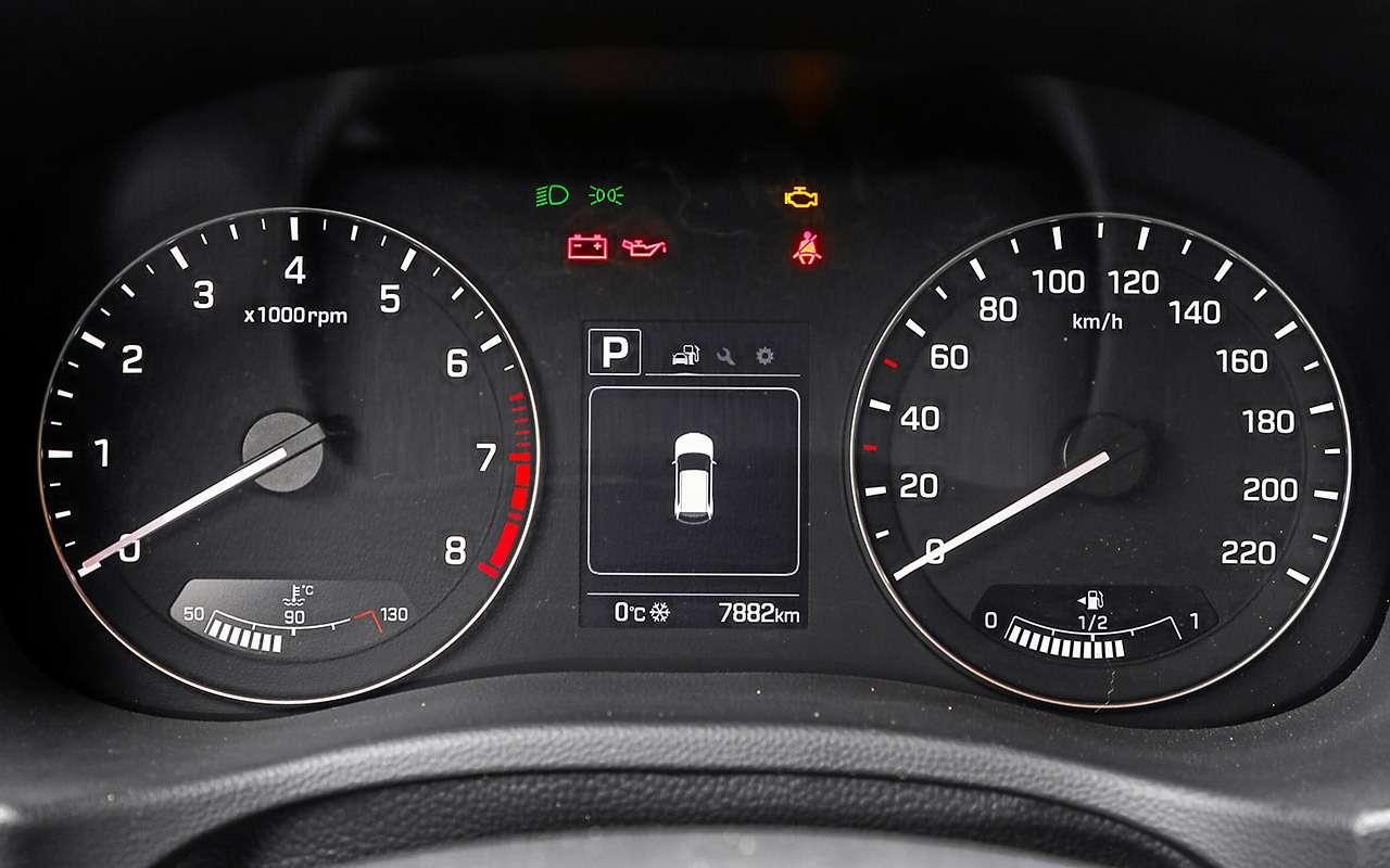 Лада XRAY Cross, Ford Ecosport иCreta: тест кроссоверов— фото 944602