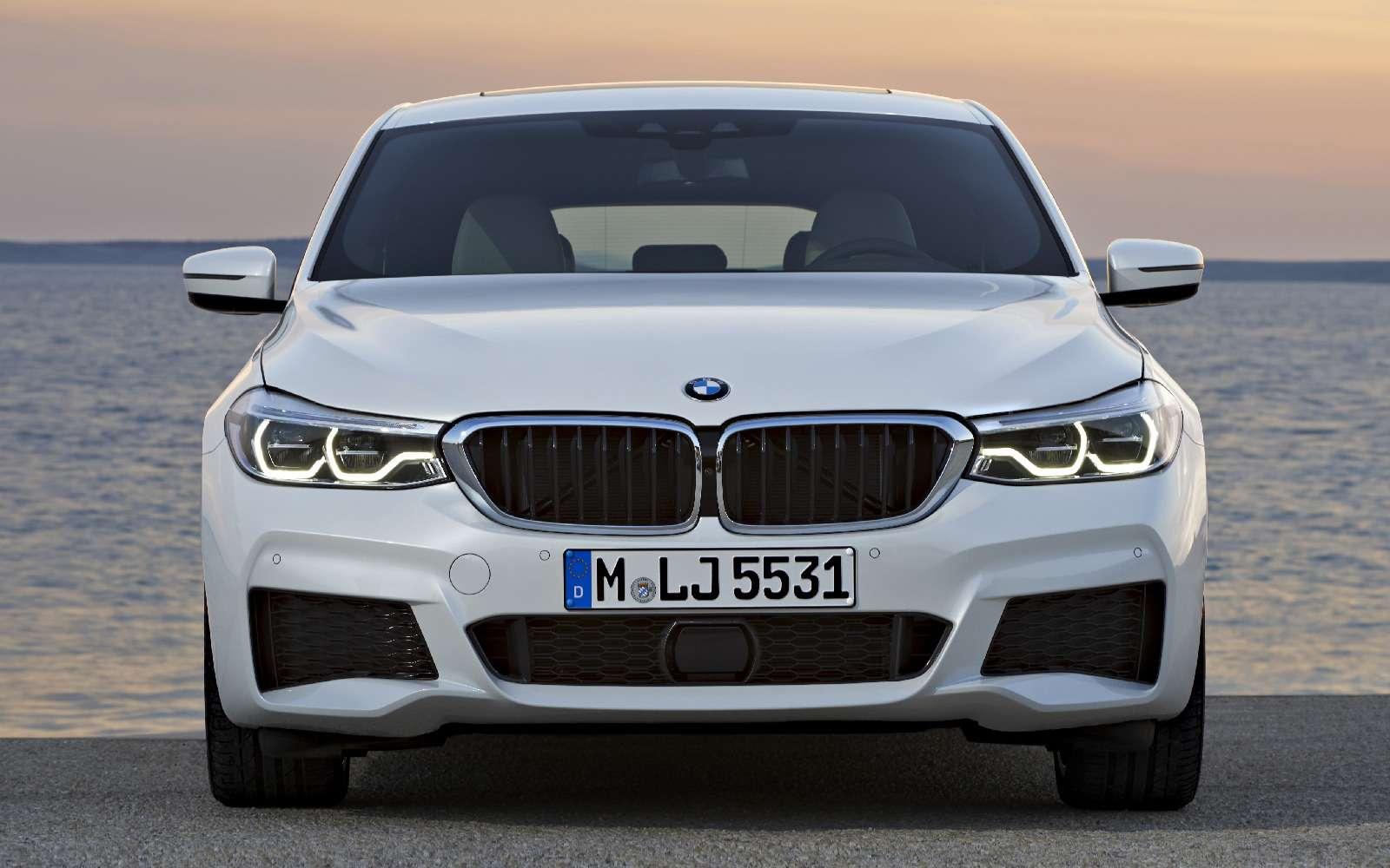 Новый лифтбек BMW 6-й серии Gran Turismo— лучше, чем «сарай»!— фото 764546