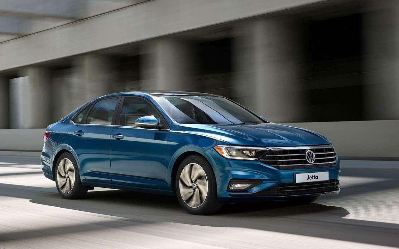 Volkswagen Jetta вРоссии получит бюджетную версию— фото 1011830