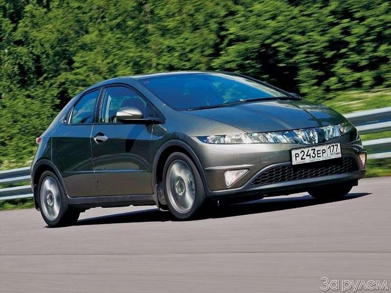 Тест Peugeot 307, Honda Civic. Берегитесь, лентяи!— фото 66535