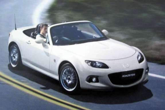 Mazda MX-5 NC3 side-front view 2