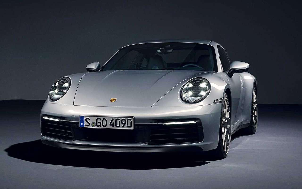 Новый Porsche 911: классический облик исовременная начинка— фото 926960