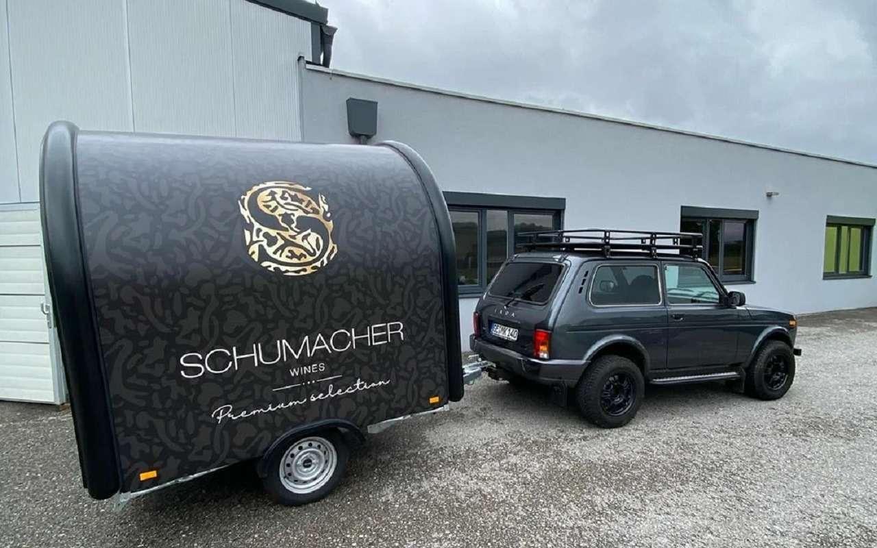 Это по-нашему: Ральф Шумахер доработал свою Lada 4x4— фото 1138353