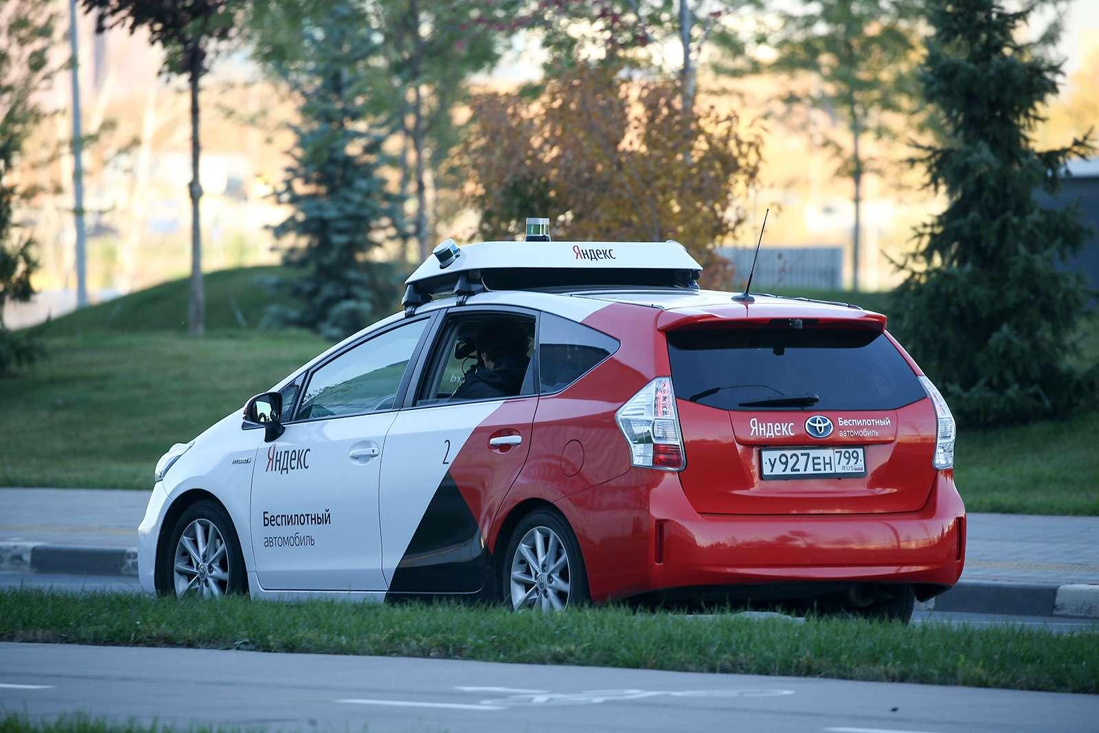 Yandex запустил беспилотное такси. Первый пассажир— Дмитрий Медведев— фото 914928