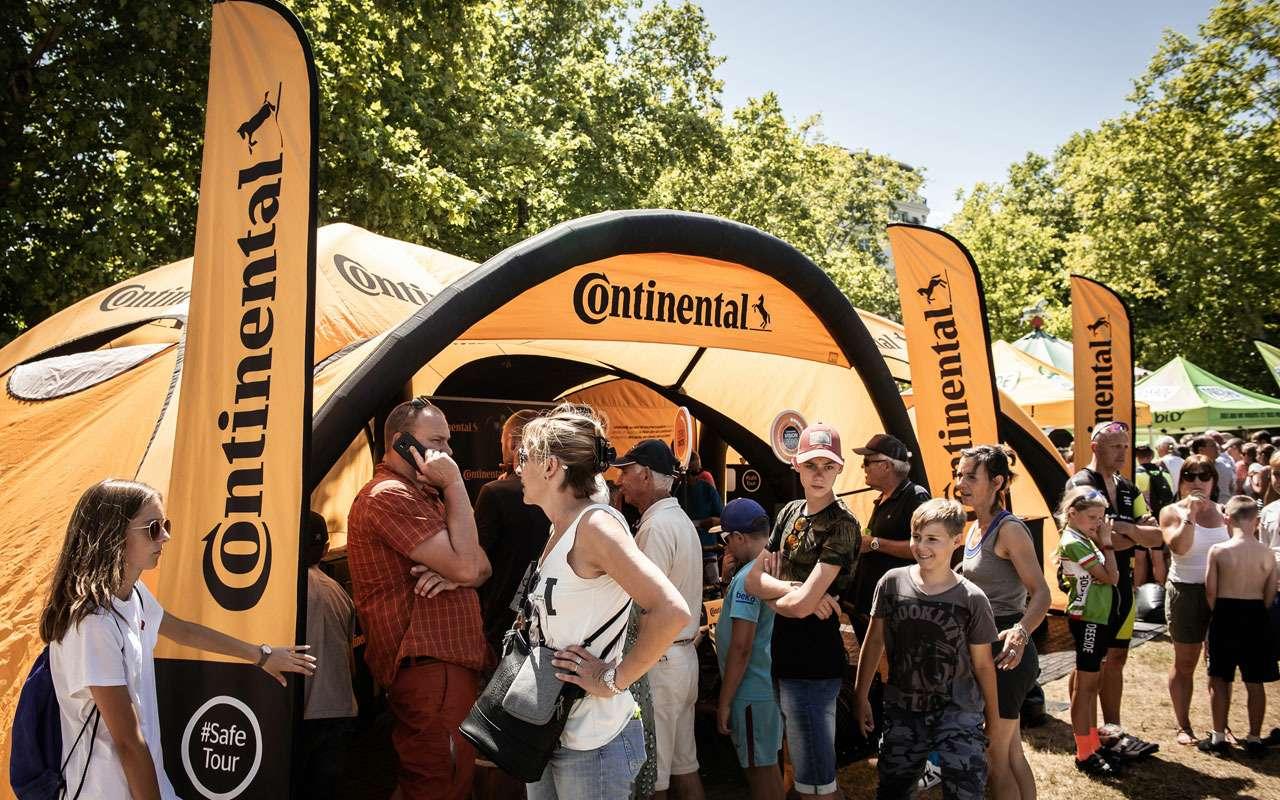 Continental обеспечил шинами самую знаменитую велогонку вмире— фото 984946