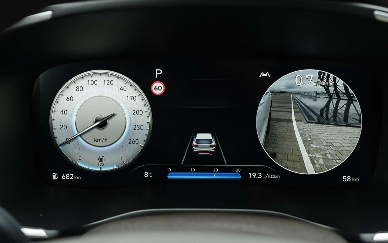 Новый Hyundai Santa Fe: 7важных отличий отKia Sorento— фото 1241389
