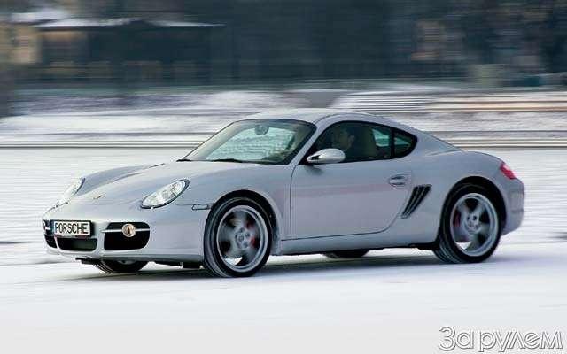 Porsche Cayman S.Наедине схищником— фото 62656