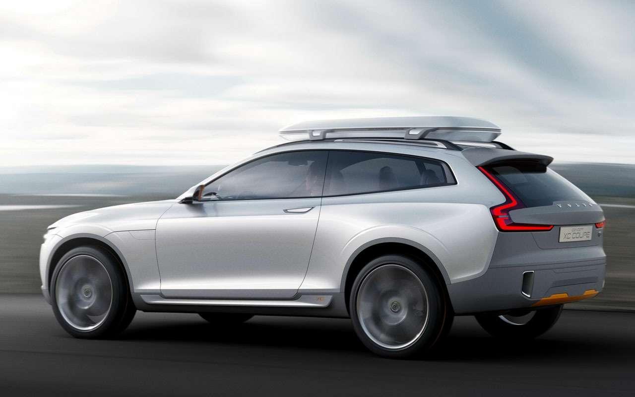Volvo сделает дорогое кросс-купе XC100— фото 1122305
