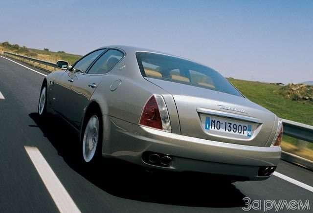 Maserati Qattroporte. Белладонна— фото 57198