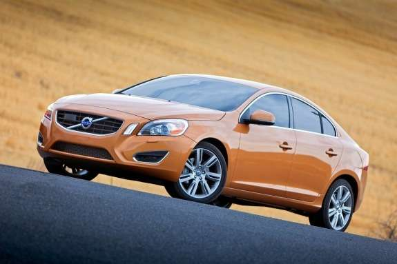 Volvo S60 side-front view