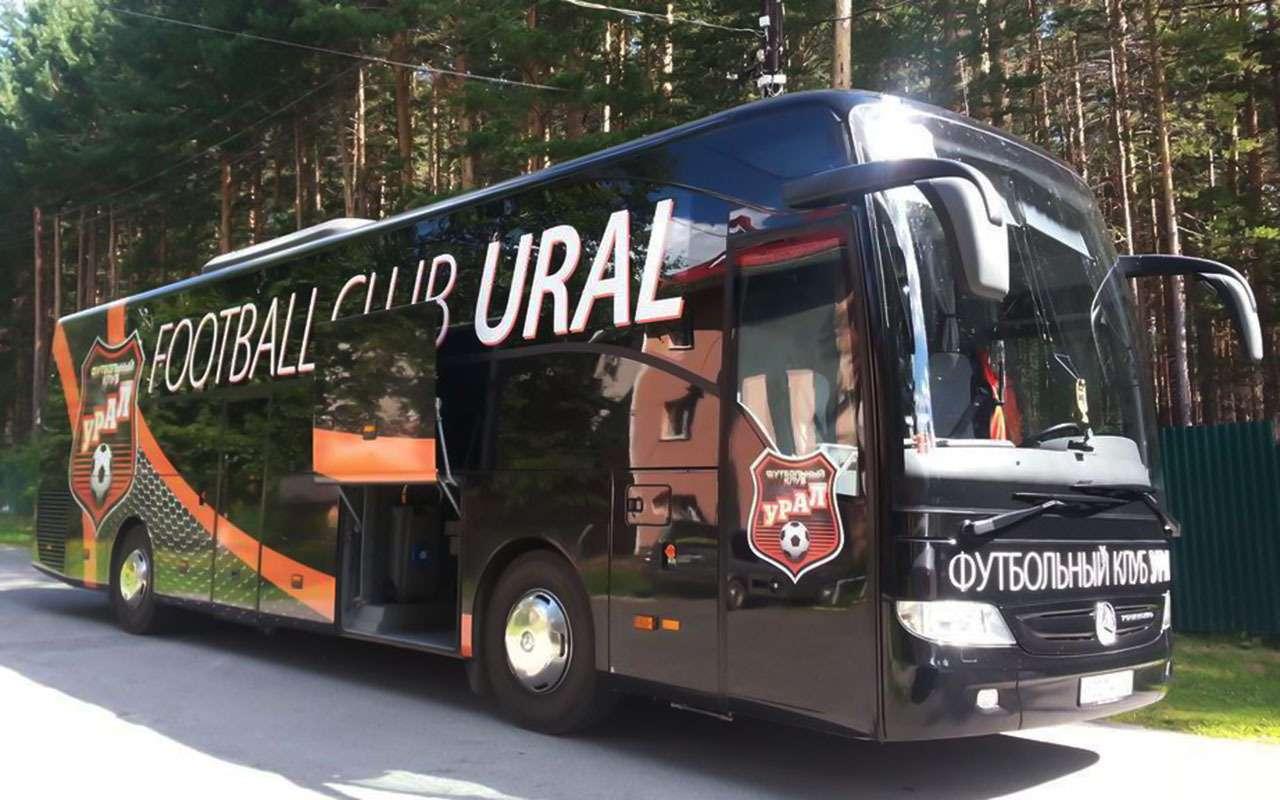 Mercedes, Setra, Volgabus...— накаких автобусах ездят наши футболисты— фото 929682