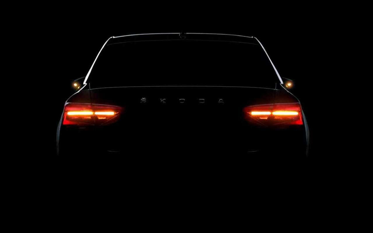 Первое видео обновленного Skoda Superb: светодиоды покругу— фото 974051