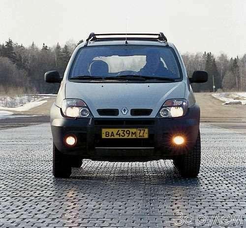 Тест Renault Scenic RX4. Мини-вэн смакси-возможностями— фото 28584