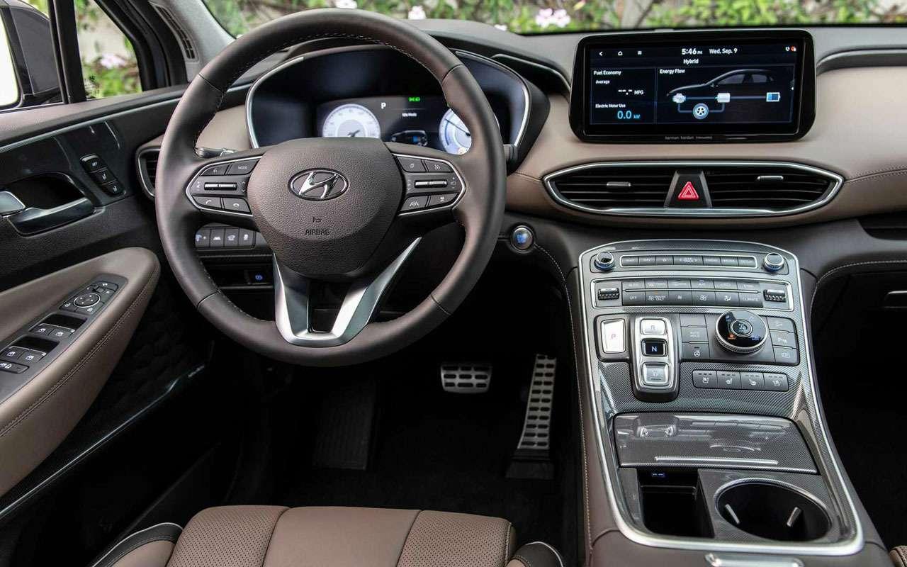 Hyundai Santa Feполучил новые моторы икоробки— фото 1190951