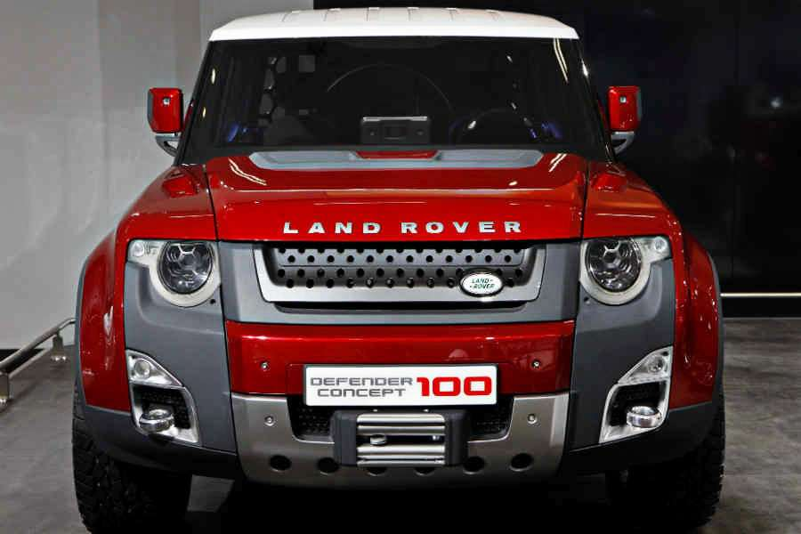 land rover positioning statement