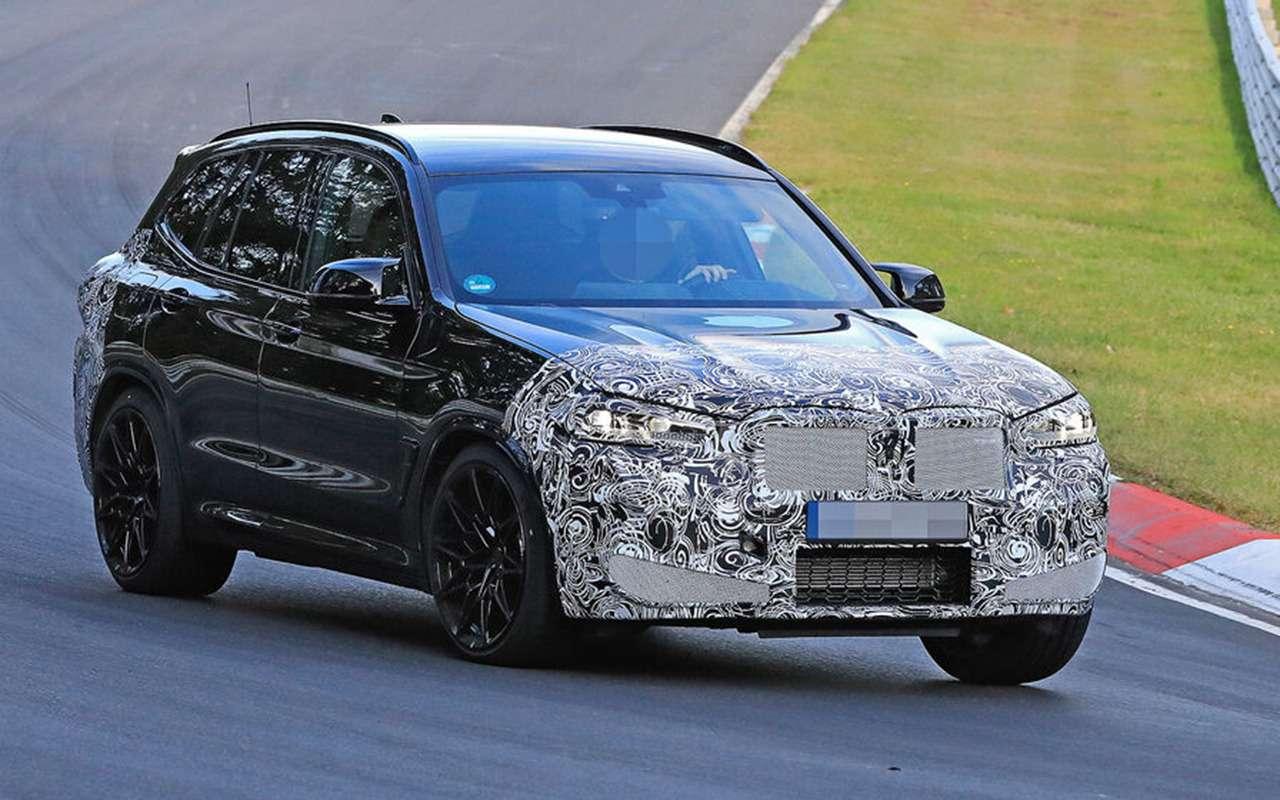 Обновленный BMW X3выехал натесты— фото 1246530