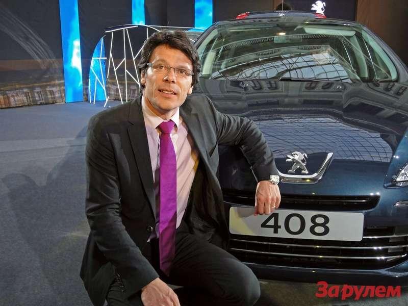 Винсент Нуарбан, директор помаркетингу марки Peugeot вРоссии