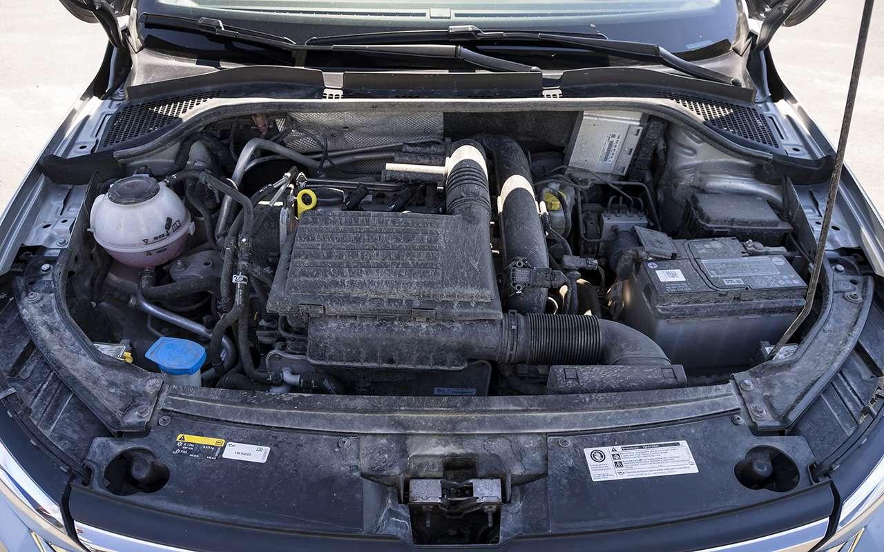 VWPolo после 20000км: грязь вдвигателе иглюки вэлектронике— фото 1267682