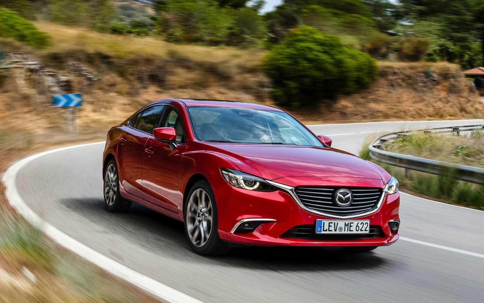 Обновленная Mazda 6: тонкая настройка— фото 657880