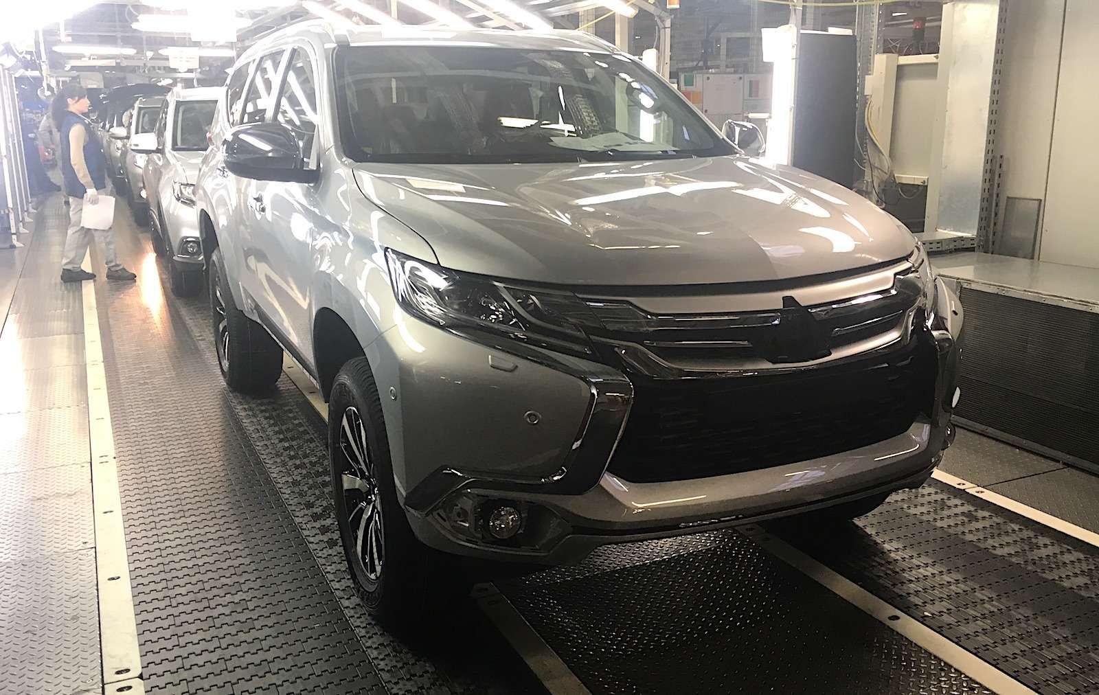 Mitsubishi вернула Pajero Sport накалужский конвейер. Что будет сценами?— фото 826750
