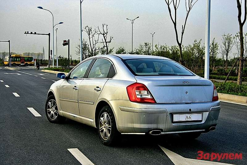 Надобликом седана «Риич-G5» (заводское обозначение— A6) трудилось кузовное ателье «Бертоне».